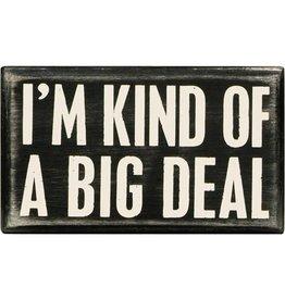 Big deal box sign 18900