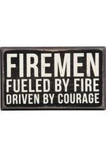 Firemen box sign 27187