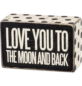 To the moon box sign 21452