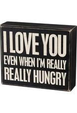 Even when I'm box sign 105465