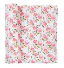 Muslin Rose Swaddle Blanket 12140009