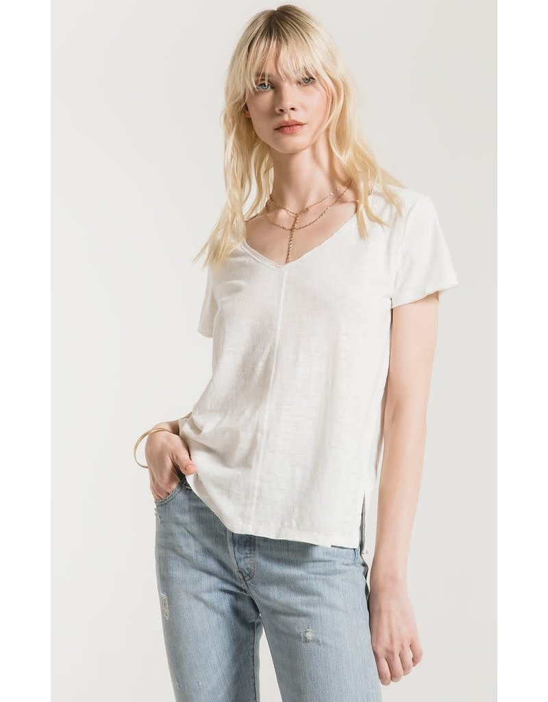 Chaparrel slub white t-shirt