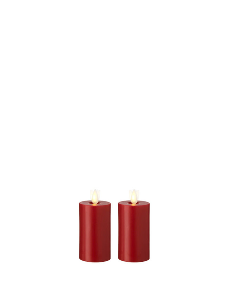 """Votive Candle Set/2 Red 2""""x3.5"""" 36104"""