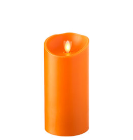 "Pillar Candle Orange 3.5""x7"" 19595"