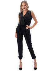 Blake Black Crossover Jumpsuit