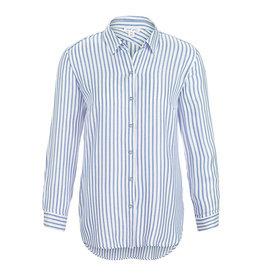 Tribal Blue stripe Sharon blouse 62580