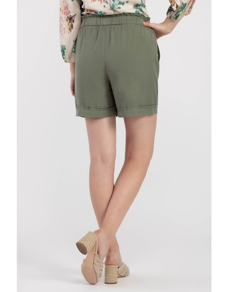 Tribal 37130 PULL ON FRONT TIE SHORT