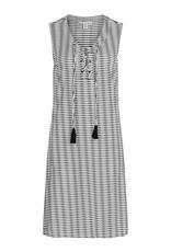 Tribal Lace-up sleeveless dress 37770