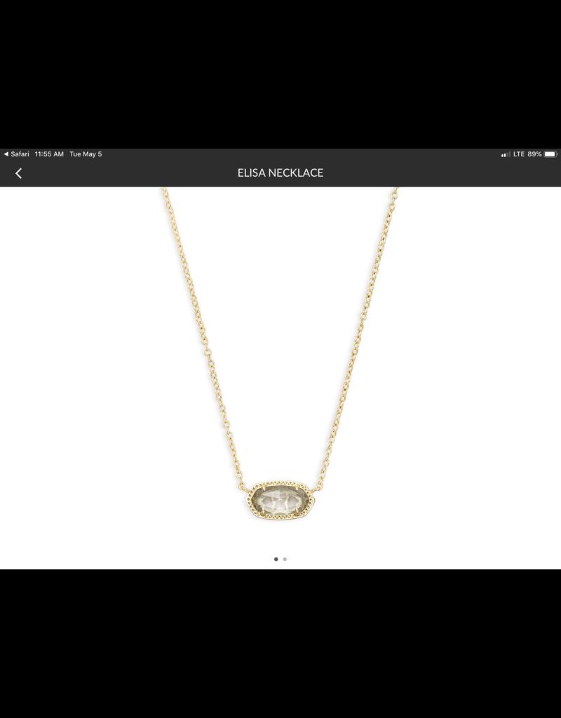 "KENDRA SCOTT Elisa Pendant Necklace 15"" 4217714617"