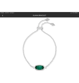 KENDRA SCOTT Elaina Adjustable Chain Bracelet 4217717609