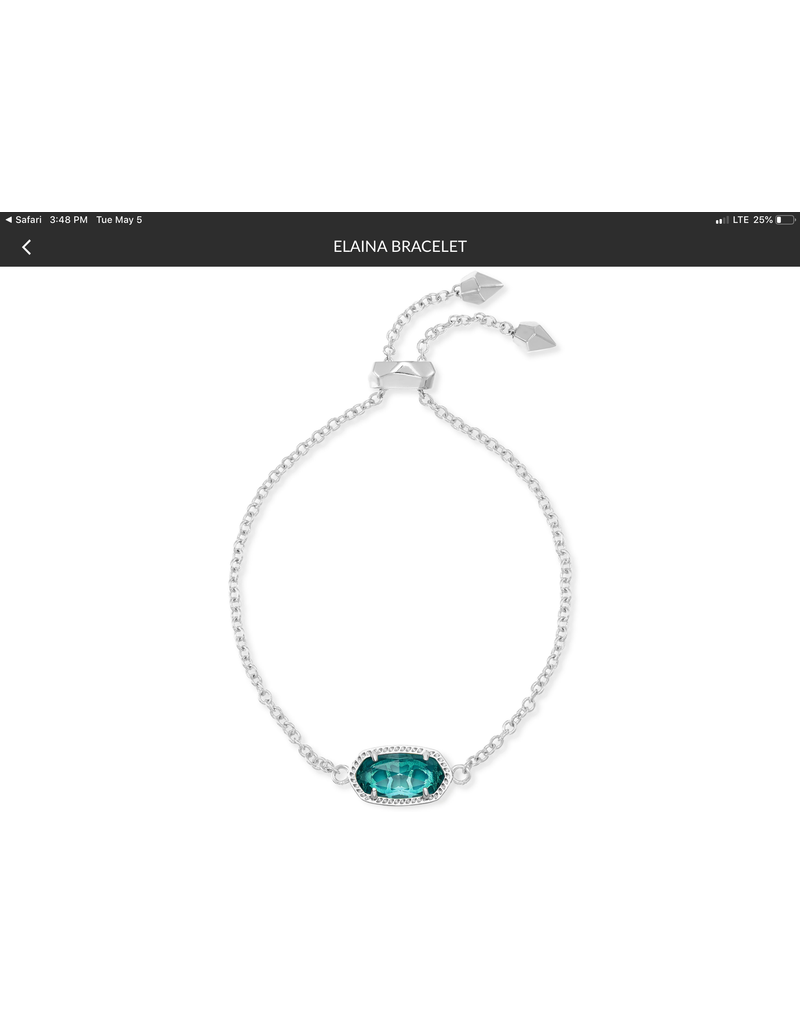 KENDRA SCOTT Elaina Adjustable Chain Bracelet 4217717615