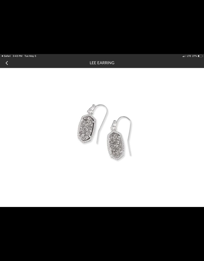 KENDRA SCOTT Lee Drop Earring rhod 4217711450