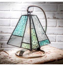 Mini pale blue accent lamp lam710