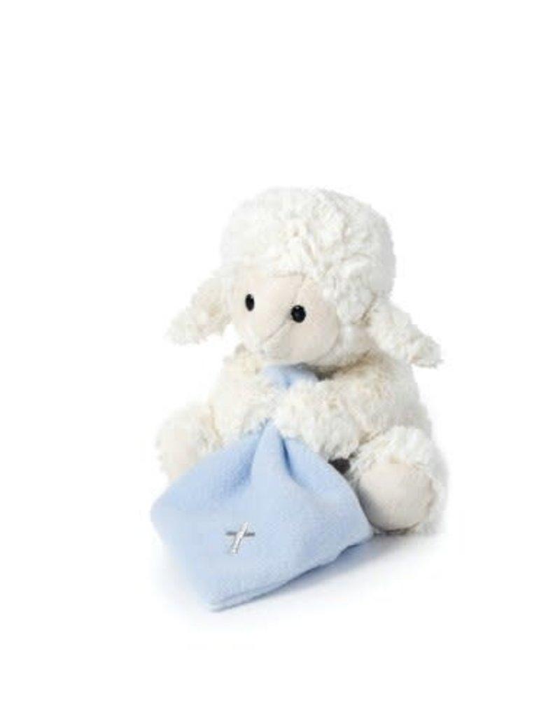Blue Jesus Loves Me Lamb P00329