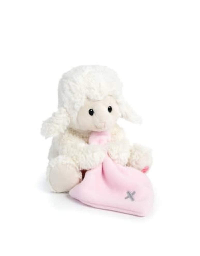 Pink Jesus Loves Me Lamb P00328