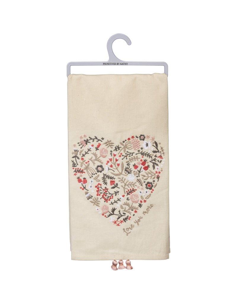 Love You More Towel 102023