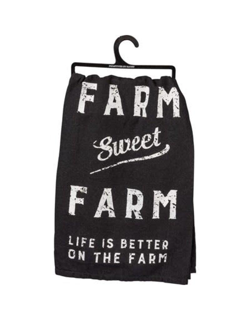 Farm Sweet Farm Towel 30354