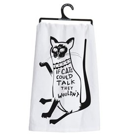 If Cats Could Talk They Wouldn't Towel 26992