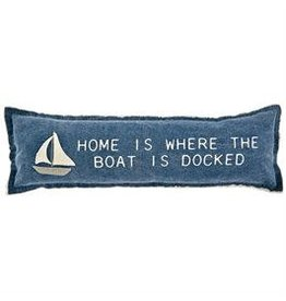 Sailboat Appliqué Pillow 41600353S