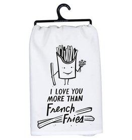 Love You More Than French Fries Towel 105512