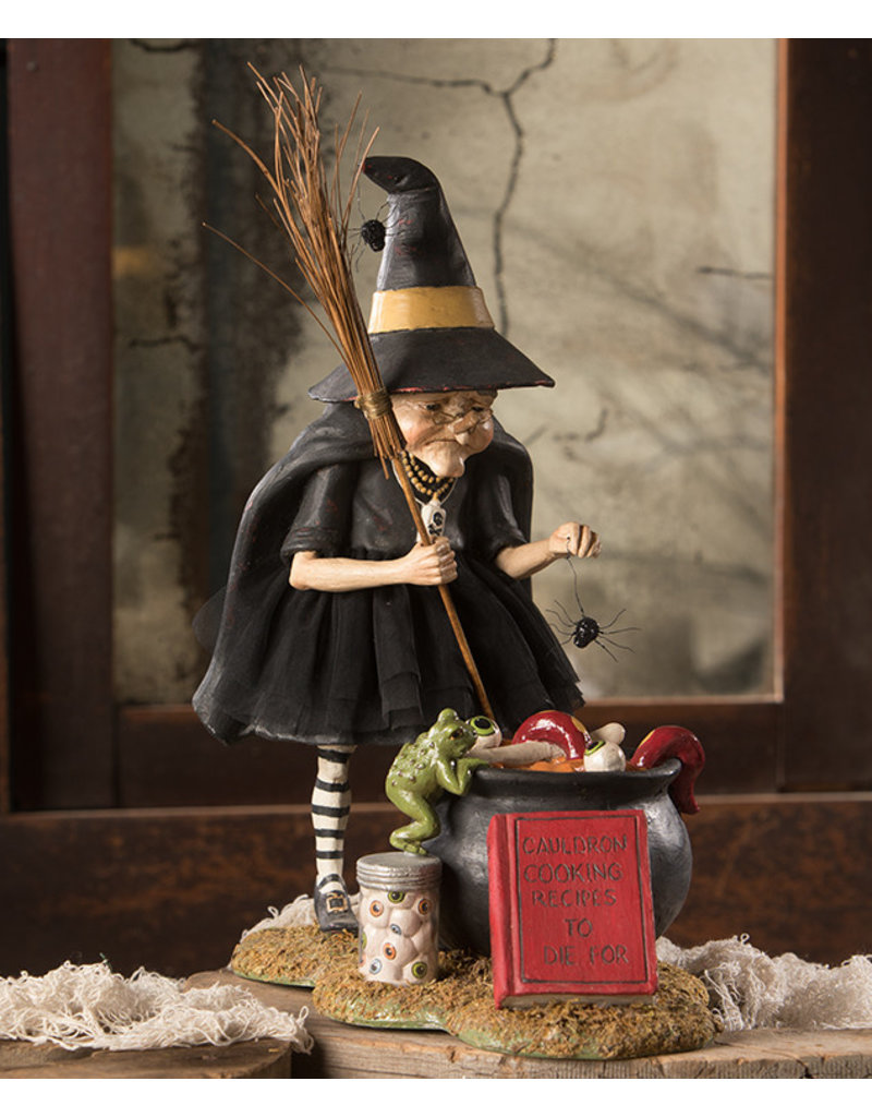 BETHANY LOWE Cauldron Cooking Witch TD9065