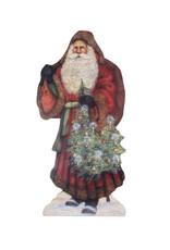 BETHANY LOWE Santa With Decorated Tree DB BB9351