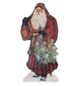 BETHANY LOWE Santa With Decorated Tree DB BB9351