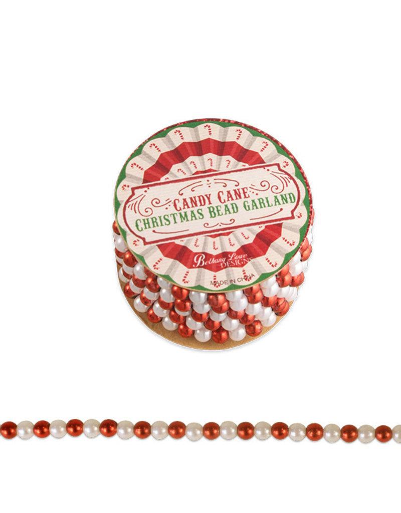 BETHANY LOWE Candy cane Mini Bead Spool LC9600