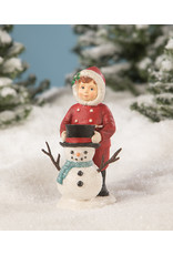 BETHANY LOWE Dolly Dressing Snowman TD9043