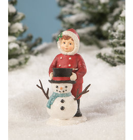 BETHANY LOWE Dolly Dressing Snowman TD9043