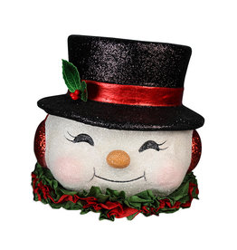 BETHANY LOWE Happy Retro Snowman TL9417