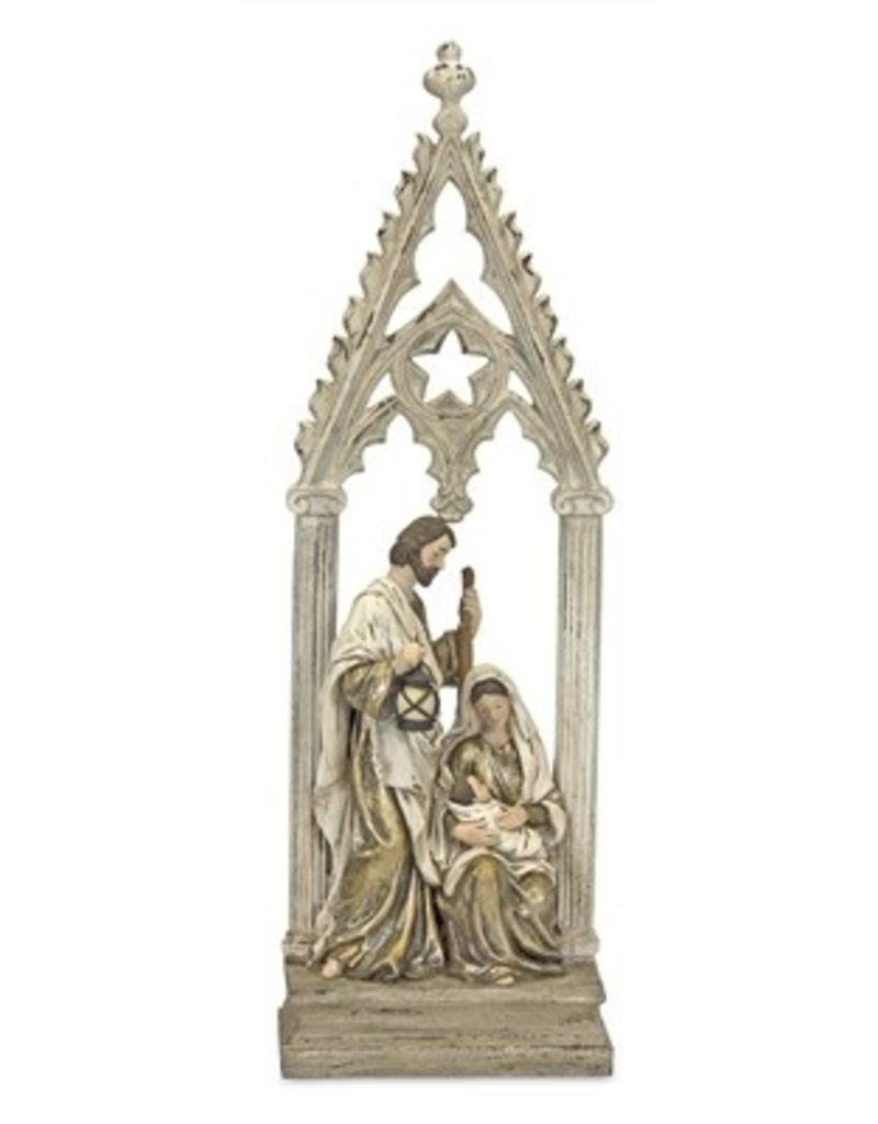 """HOLY FAMILY W/ARCH  23.25"""" 80014"""