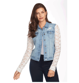 FDJ Lace Sleeve Jacket 1002669