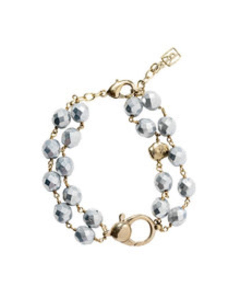 "WAXING POETIC Ensemble Bracelet-Bright Silver 7/5"" ENS7MS-SLV"