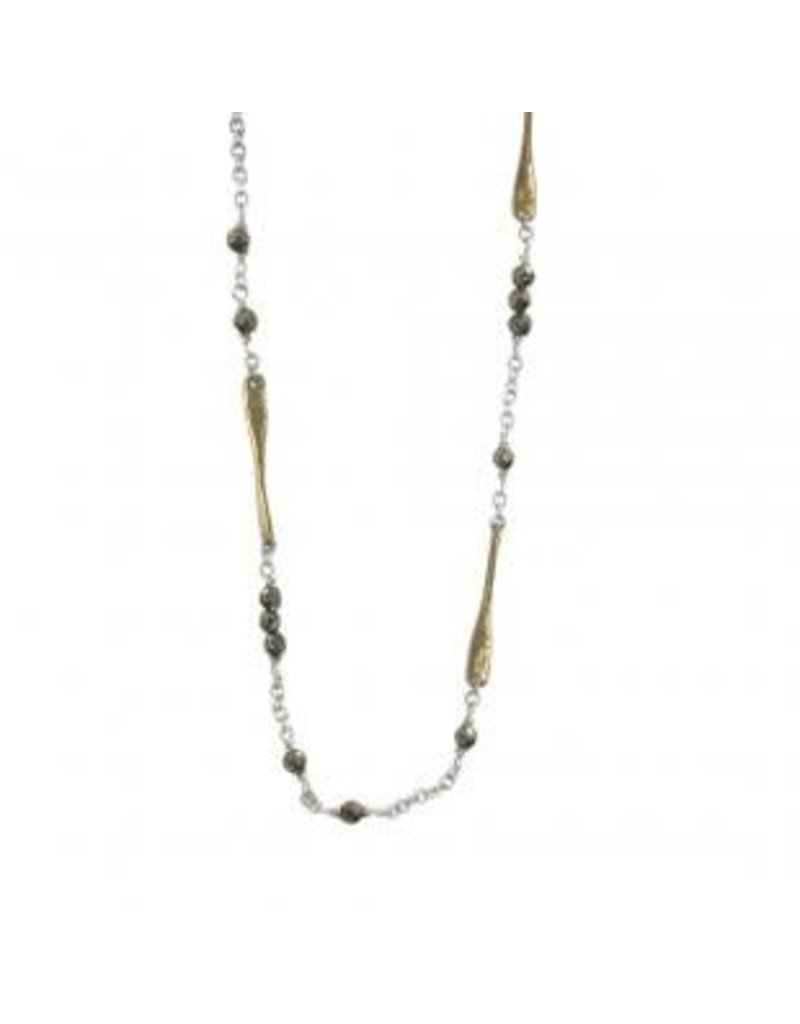 "WAXING POETIC Lume Chain-Pyrite 28"" SB-28"