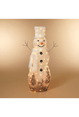 """Electric Lighted White Snowman 48"""" 2555880"""