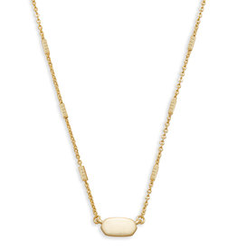 KENDRA SCOTT Fern necklace gold 4217715884