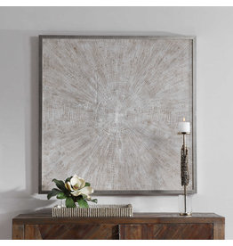 "UTTERMOST Mesmerize Hand Painted Canvas 43"" W x 43"" W x 2"" D 32276"