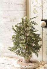 "Potted Festive Glitter Tree 19"" XG7617"