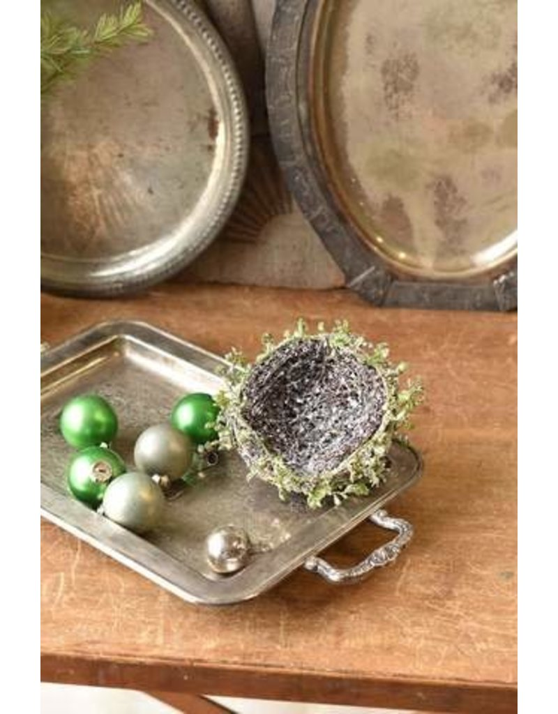 "Iced Twined Vine Nest 4.5"" XBR6018"