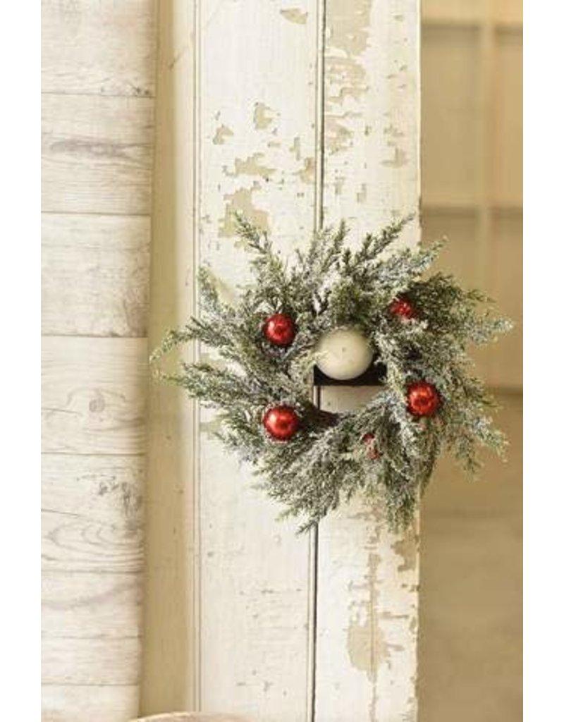 """Festive Snow Wreath 12"""" XG7610"""