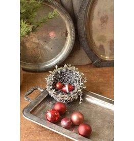 "Glitter Twined Vine Nest 4.5"" XBR6033"