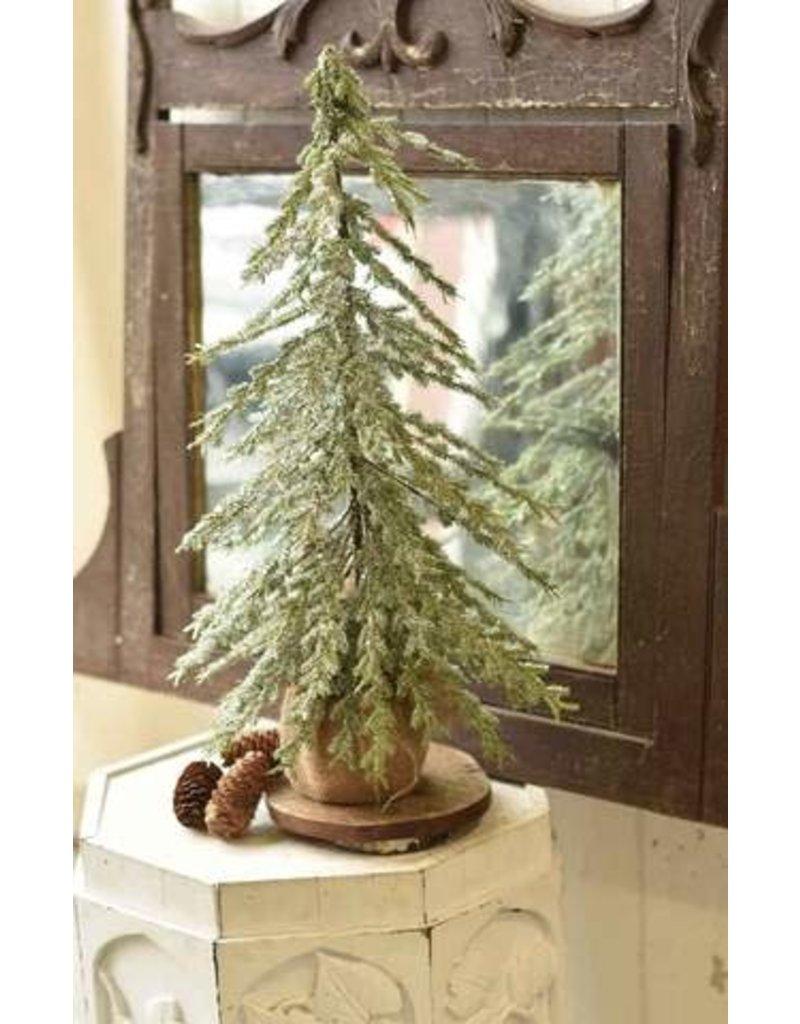 """Icy Delightful Fir Tree 24"""" XQD4020"""