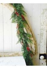 Red Cedar w/Berries Garland 6' XP78136