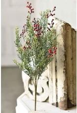 Icy Red Cedar w/Berries Bush 20.5 XP78151