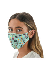 Face mask covering reusable