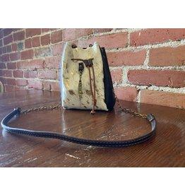 Canoe Gold accent drawstring Kodak purse