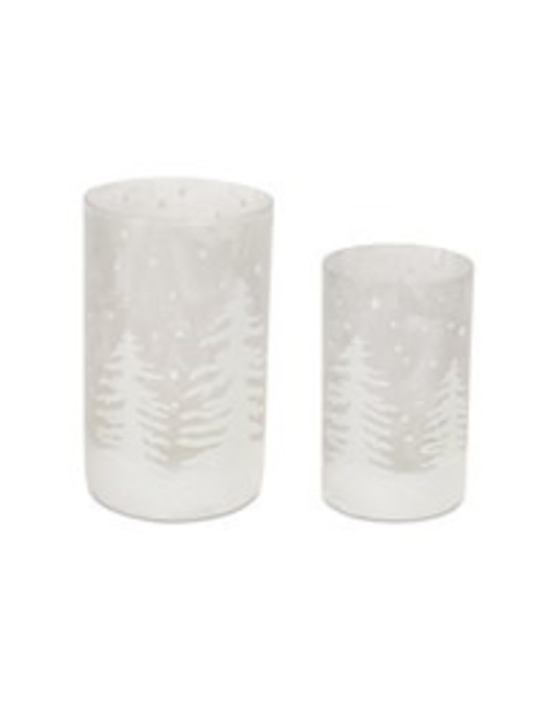 """Candle Holder 3.75""""x 6"""" 68420S"""