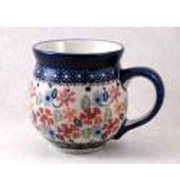 Signature medium bubble mug may flower j113