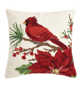 Winter song hooked pillow